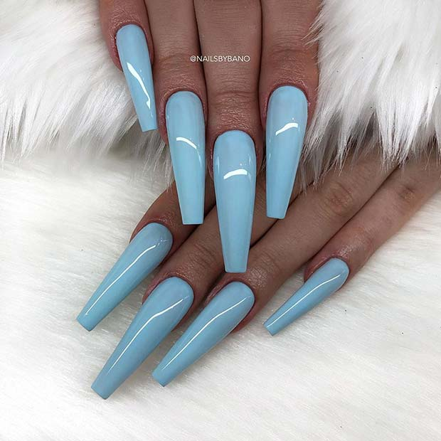 Simple And Stylish Pastel Nails