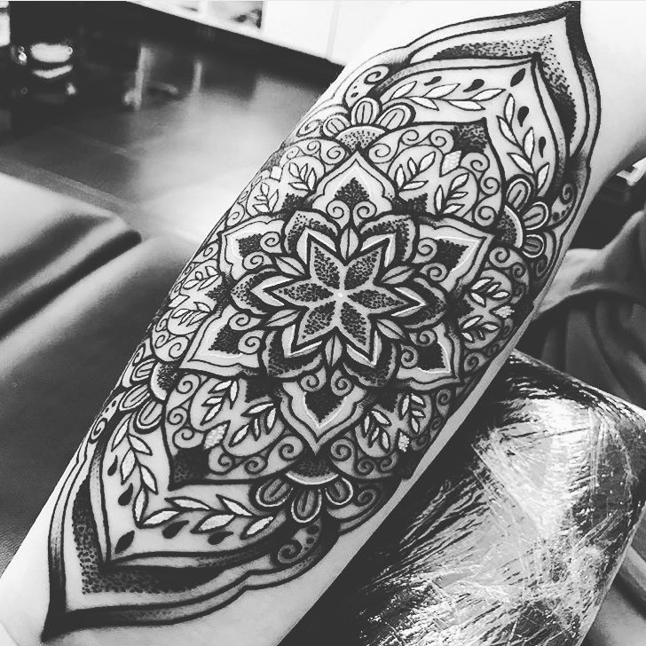 Arm Mandala Tattoo Designs (1)