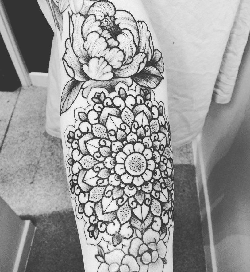 Arm Mandala Tattoo Designs (4)