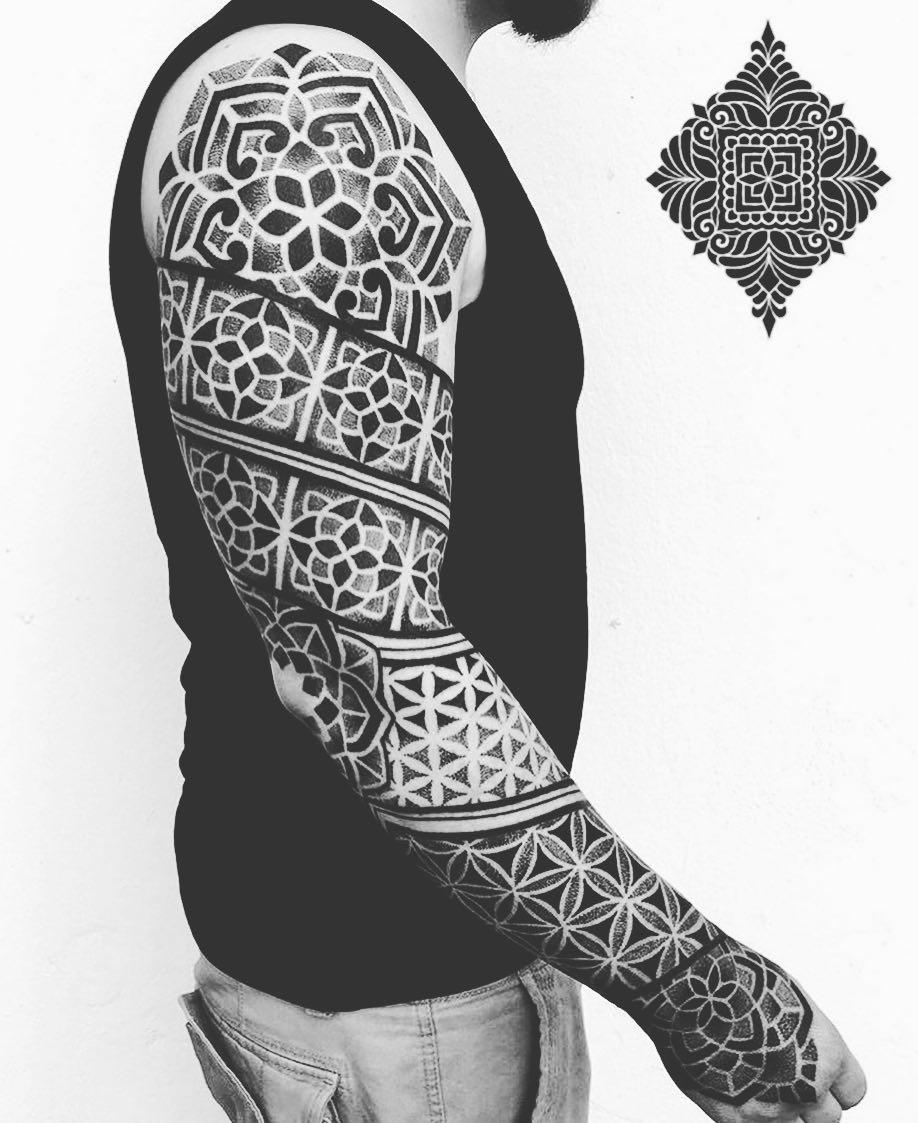 Arm Mandala Tattoo Designs (8)