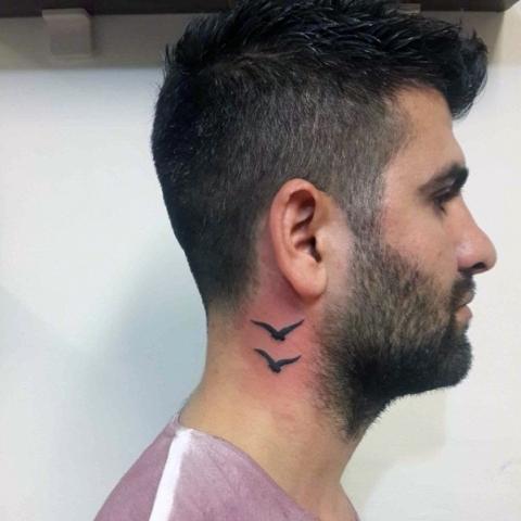 Two Birds Tattoo Idea