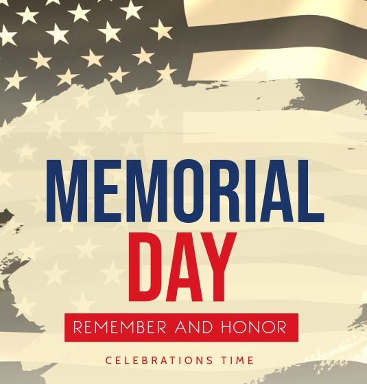 Celebrations Time Memorial Day 2021