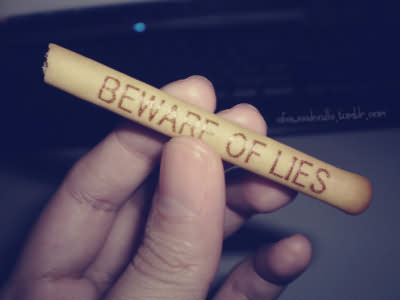 Beware Of Lies