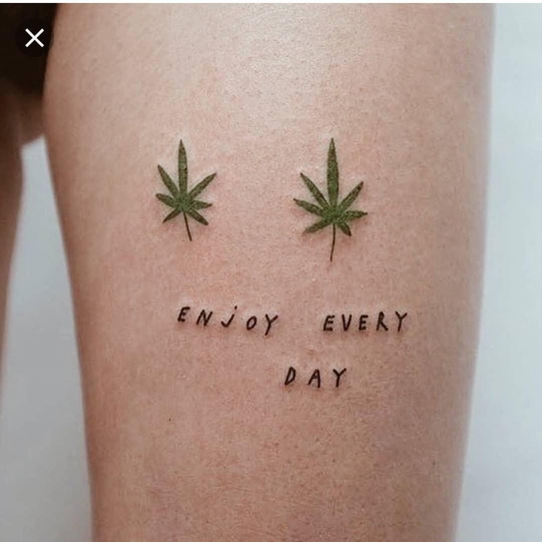 Weed Tattoo (100)