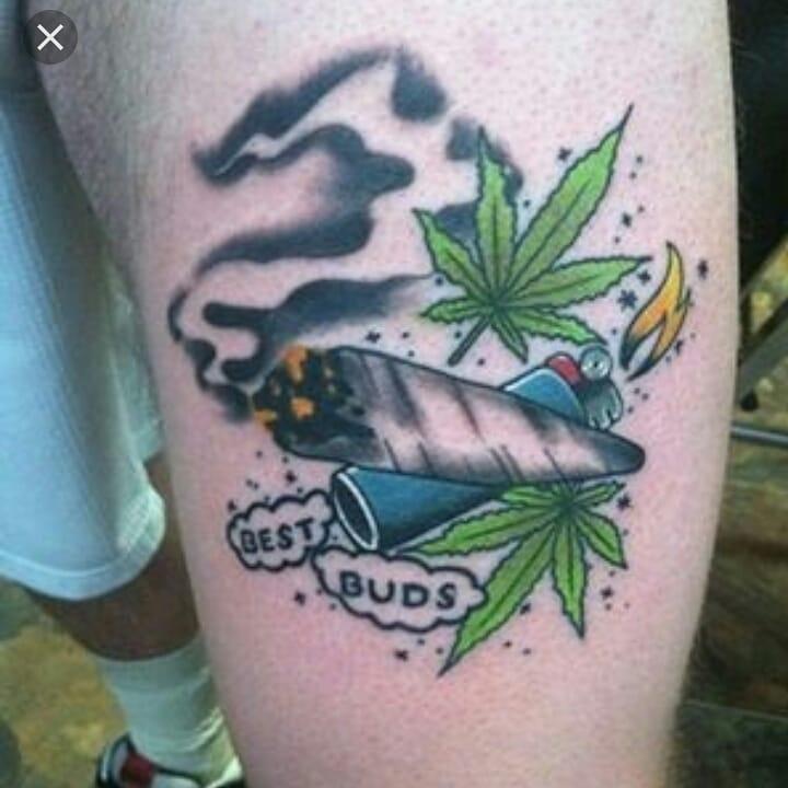 Weed Tattoo (104)