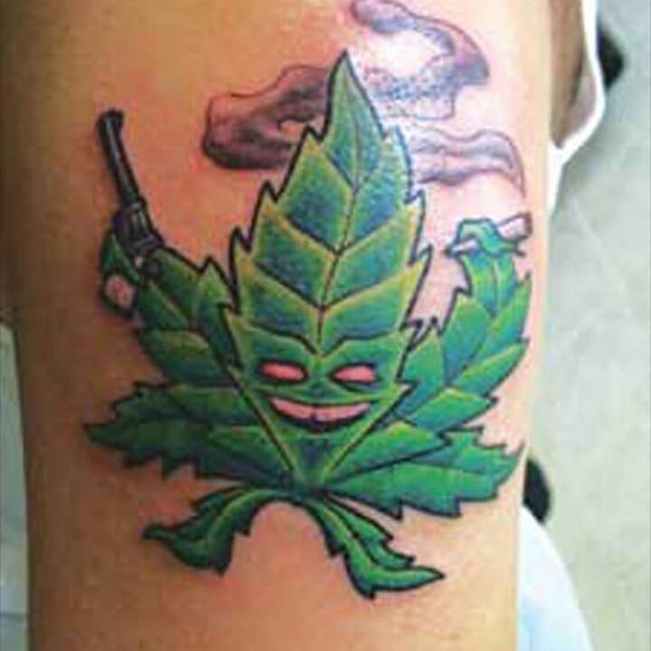 Weed Tattoo (120)