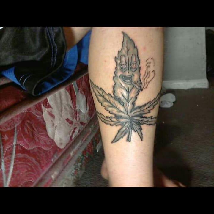 Weed Tattoo (124)