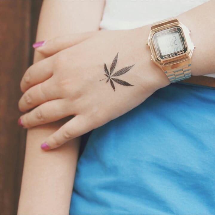 Weed Tattoo (142)