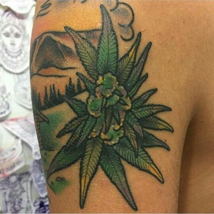 Weed Tattoo (58)