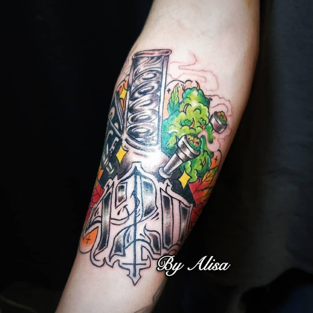 Weed Tattoo (60)