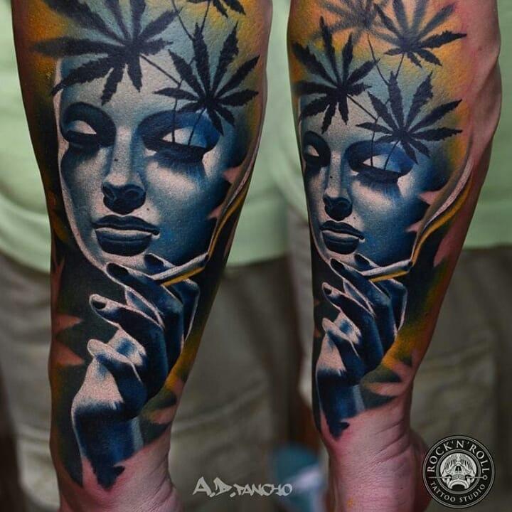 Weed Tattoo (61)
