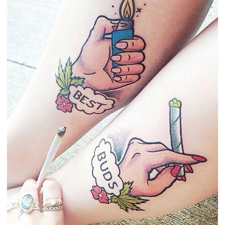 Weed Tattoo (70)