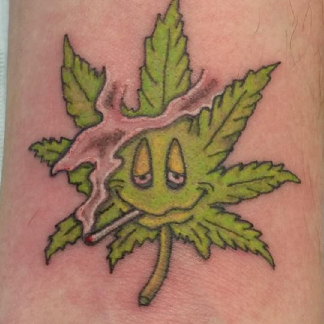 Weed Tattoo (75)
