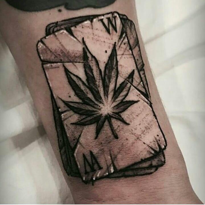 Weed Tattoo (91)