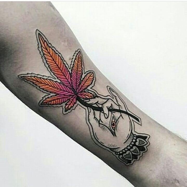 Weed Tattoo (99)