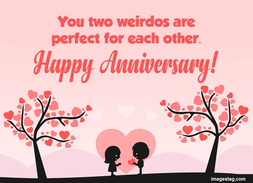 Funny Anniversary Wishes for Couples