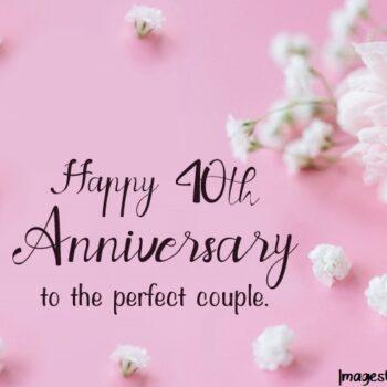 40th Anniversary Wishes – Ruby Wedding Anniversary