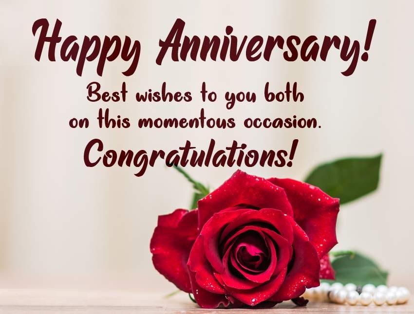 Happy Wedding Anniversary Wishes Msg